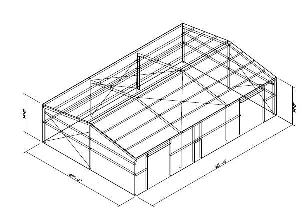 40x60 metal building plans