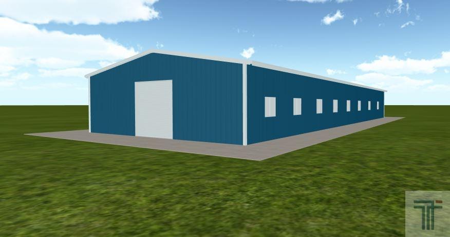 pre built horse barn