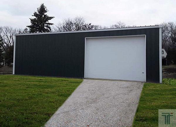 30x40x12 steel building shop plans