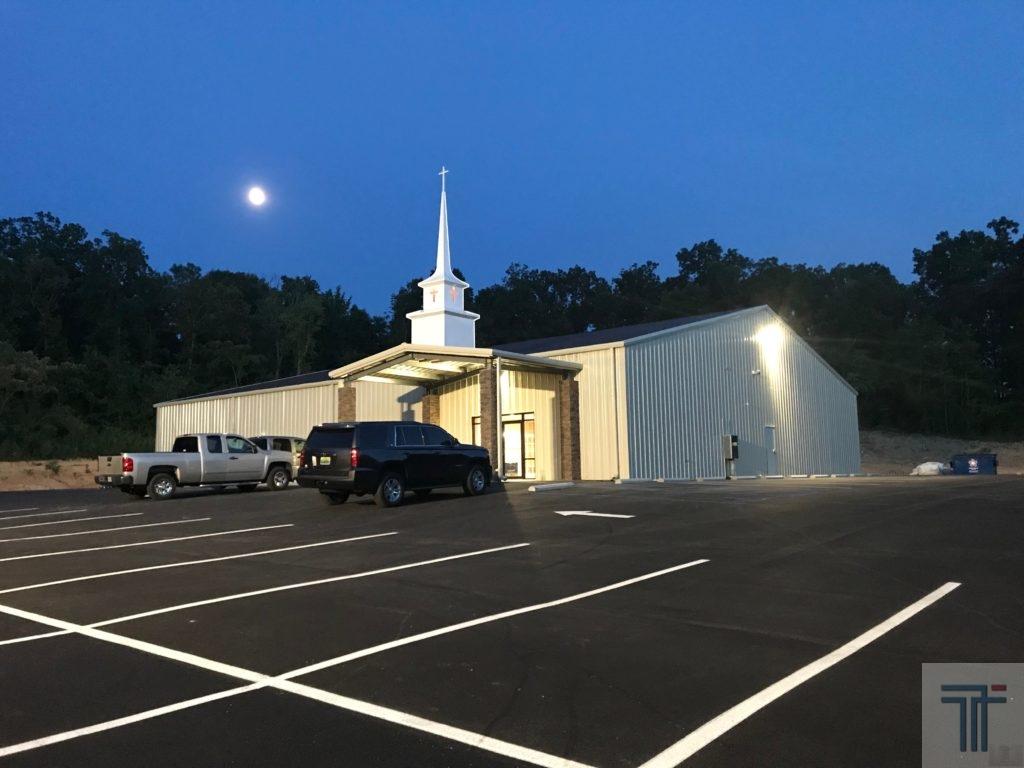 steel church building designs in Alabama